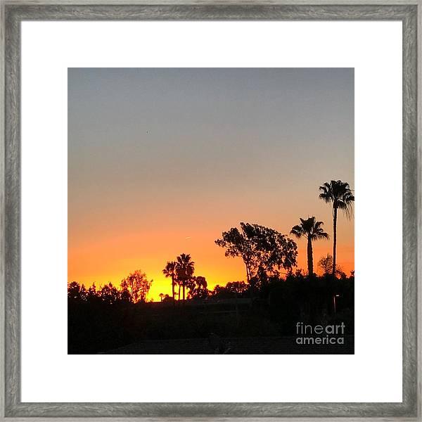 Daybreak Framed Print