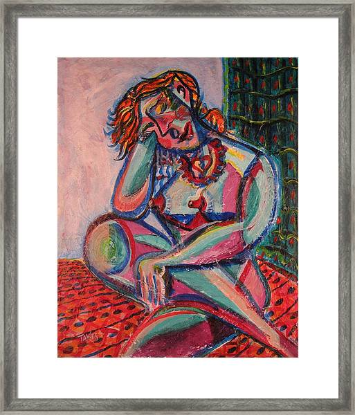 Daydreaming In Color Framed Print