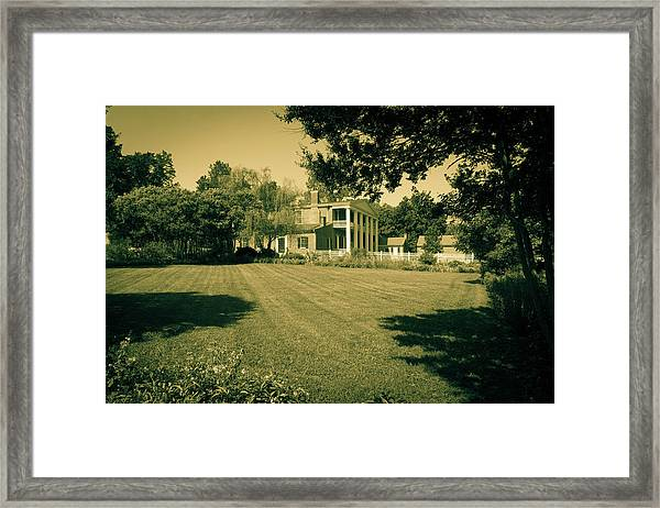 Days Bygone - The Hermitage Framed Print