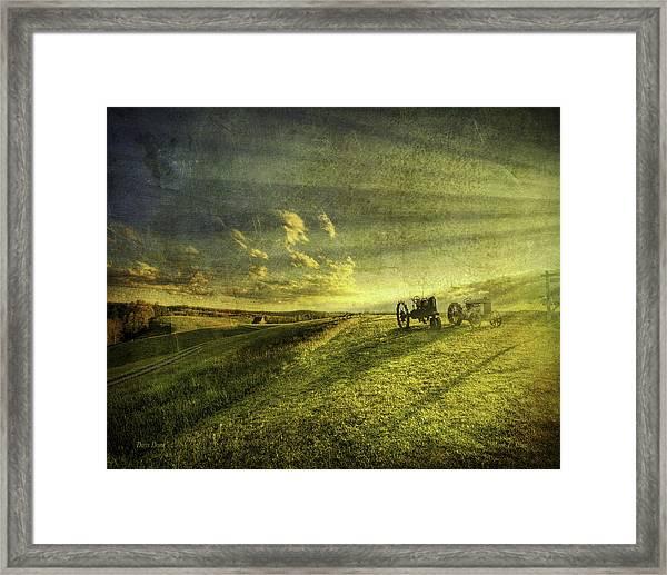 Days Done Framed Print