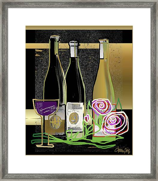 Days Of Wine And Roses Framed Print
