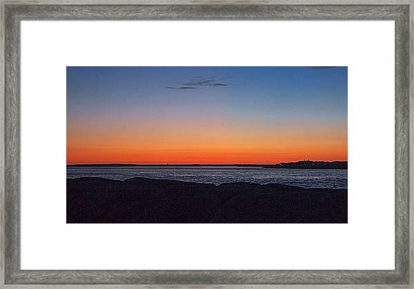 Days Pre Dawn Framed Print