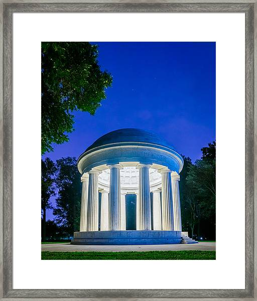 Dc War Memorial Framed Print