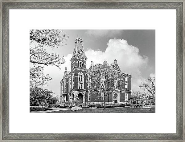 De Pauw University East College Framed Print