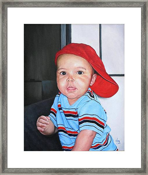 Deacon Framed Print
