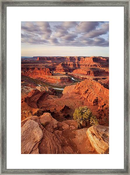 Dead Horse Point Vertical Framed Print