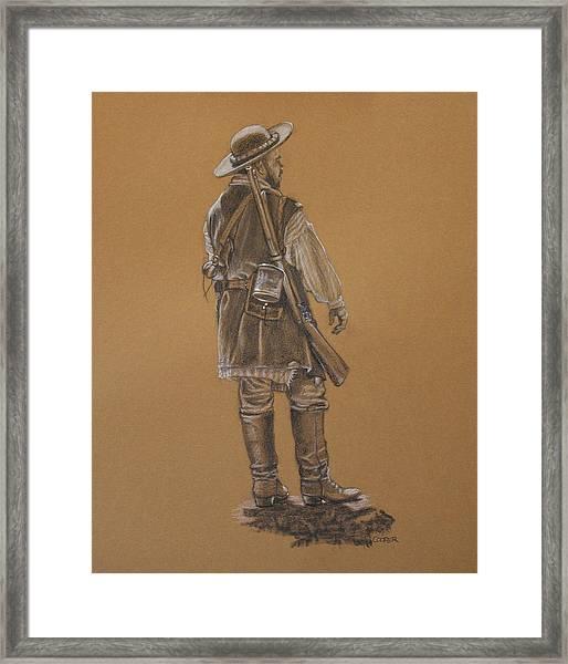 Dead Horse Framed Print