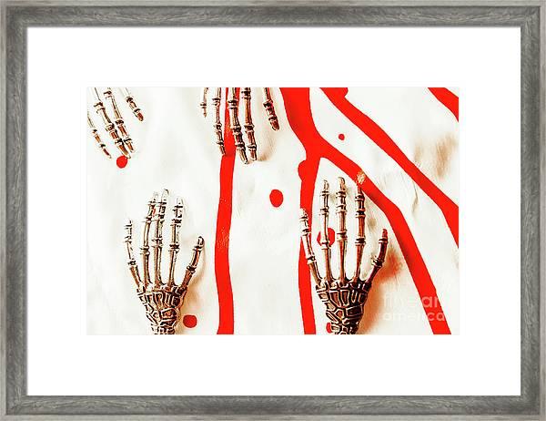 Deadly Design Framed Print
