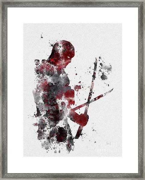 Deadpool Framed Print