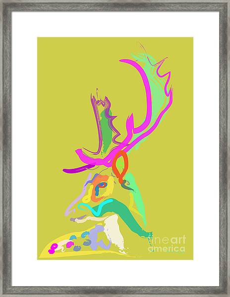 Dear Deer Framed Print