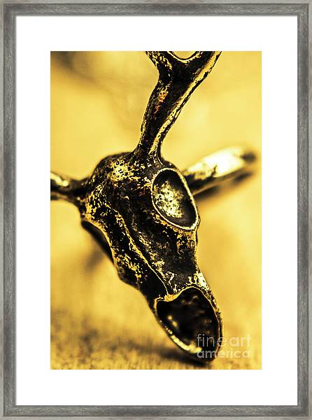 Death Commitment Framed Print