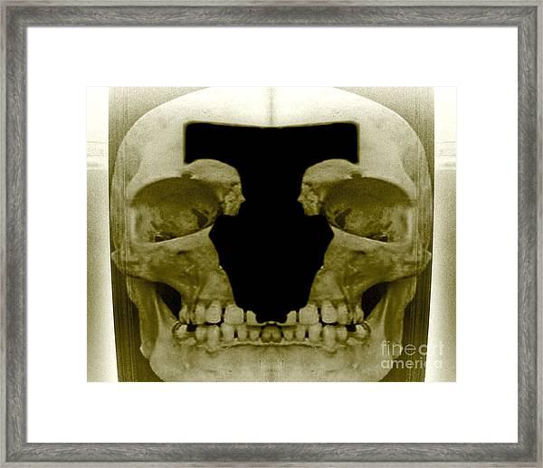 Death Duo Framed Print