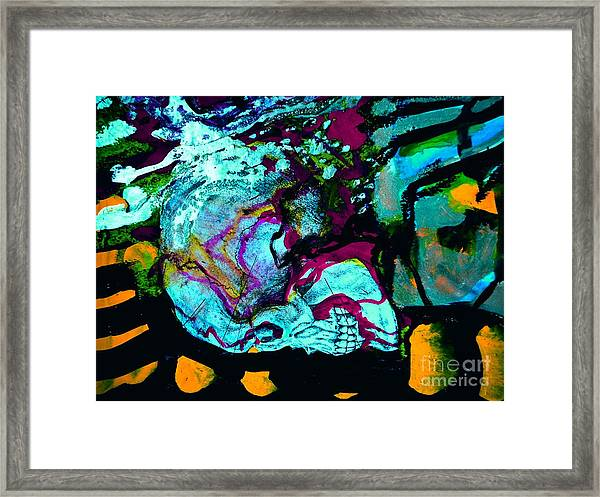 Death Study-4 Framed Print