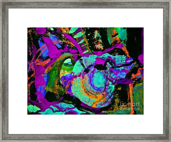 Death Study-5 Framed Print