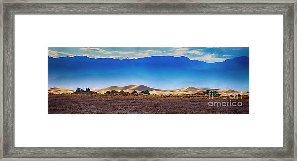 Death Valley Dunes Framed Print
