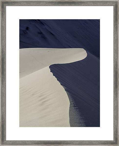 Death Valley Sand Dune Framed Print
