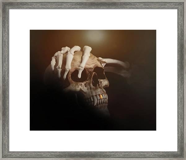 Death's Head Framed Print