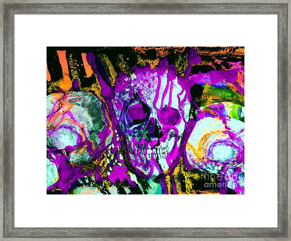 Deathstudy-1 Framed Print