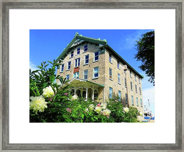 Dec Building Cape Vincent Ny Framed Print