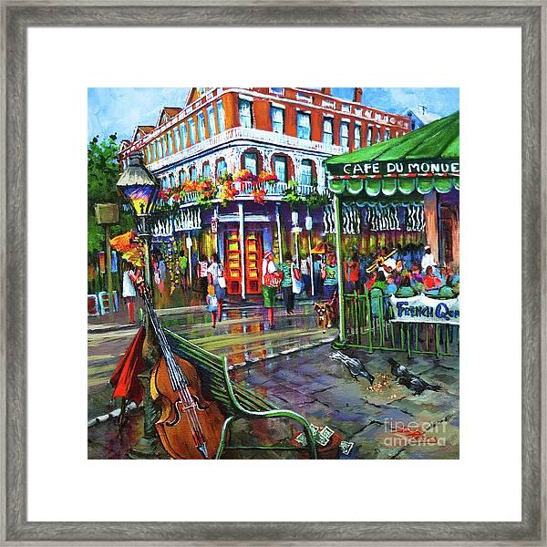 Decatur Street Framed Print