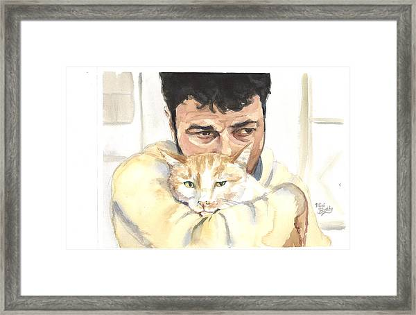 December Alaa And Ernesto Framed Print