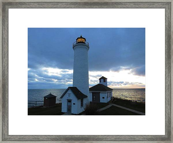 December Light, Tibbetts Point  Framed Print