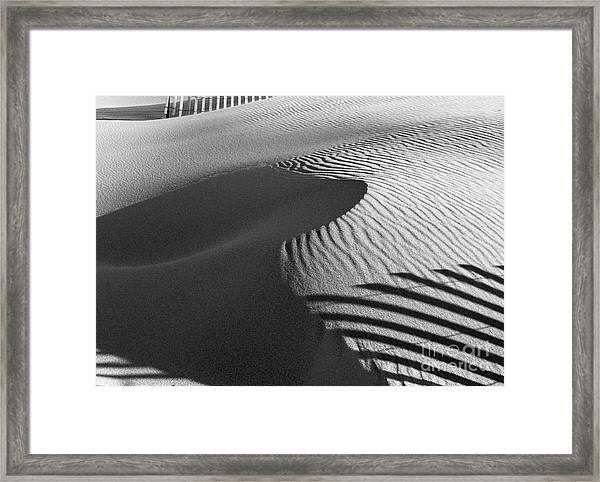 December Sands Framed Print