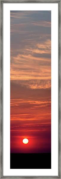 Decline Framed Print by Sergey Kovalev