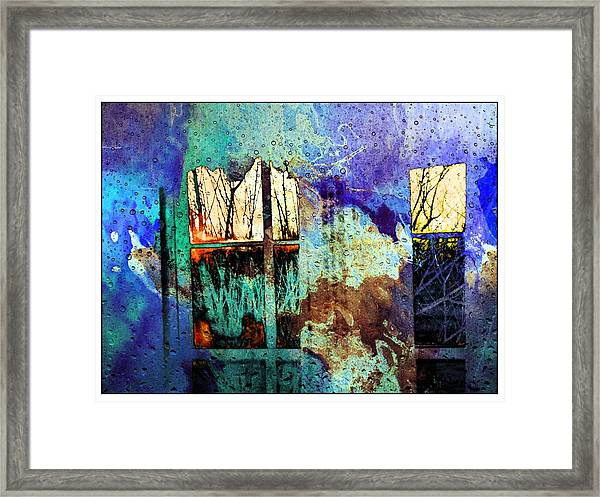 Deconstruction #33 Framed Print