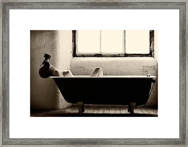 Decontamination Framed Print