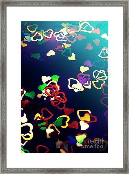 Decorations In Romance Framed Print