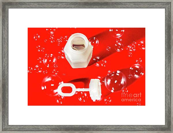 Decorative Christmas Party Framed Print