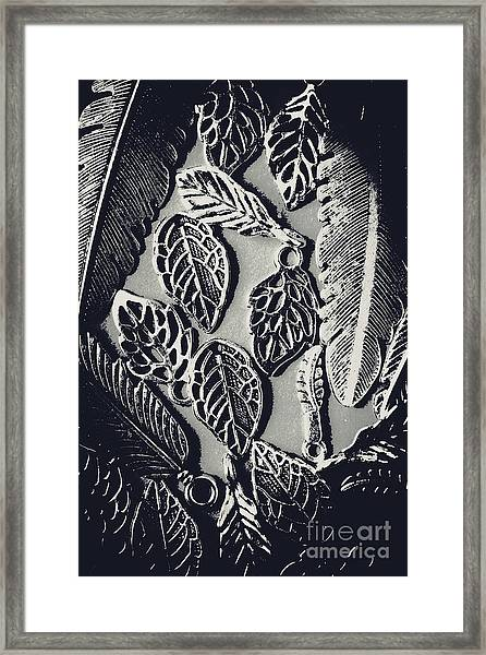 Decorative Nature Design  Framed Print