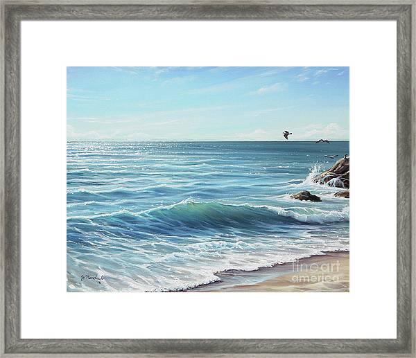 Deep Blue Sea Framed Print