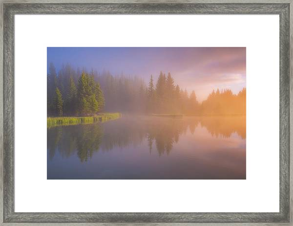 Deep Breath Framed Print