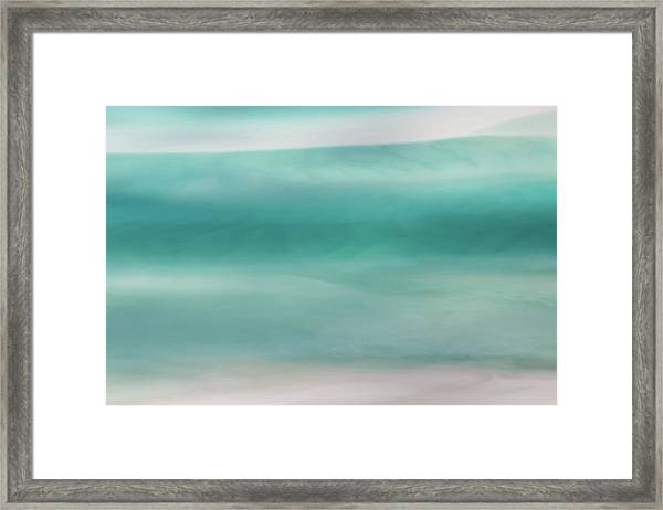 Deep Channel Framed Print