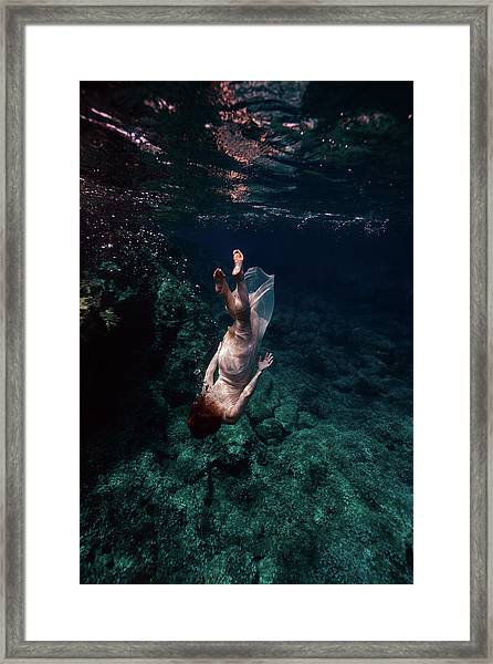 Deep Down  Framed Print