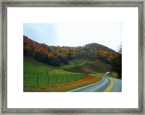 Deep Down Peaceful And Serene Framed Print