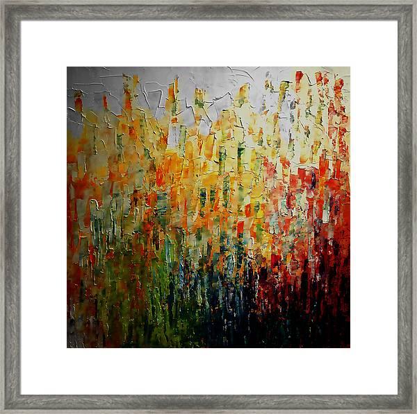 Deep Garden Framed Print