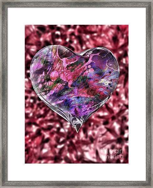 Deep Love Framed Print