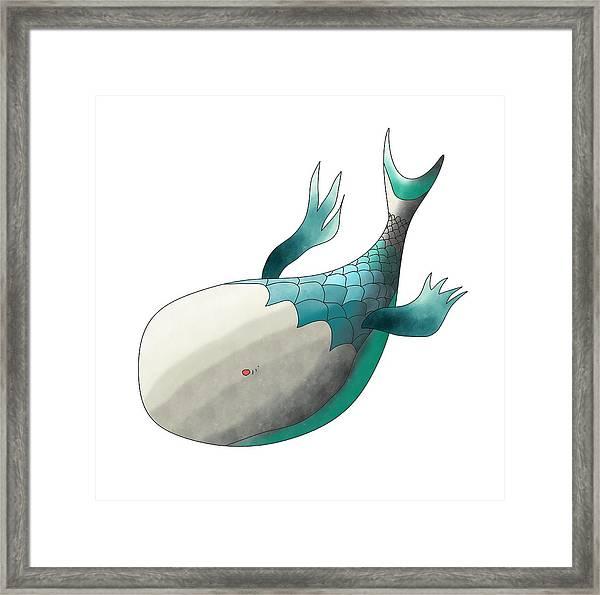 Deep Sea Fish Framed Print