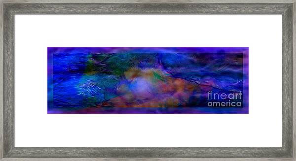 Deep Waters Framed Print