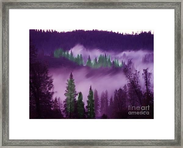 Deer Creek Canyon Framed Print
