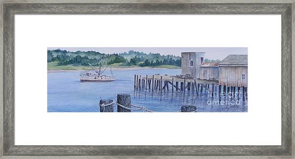 Deer Island  Original...sold Framed Print
