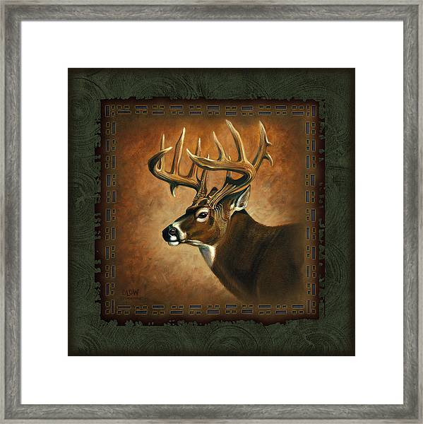 Deer Lodge Framed Print