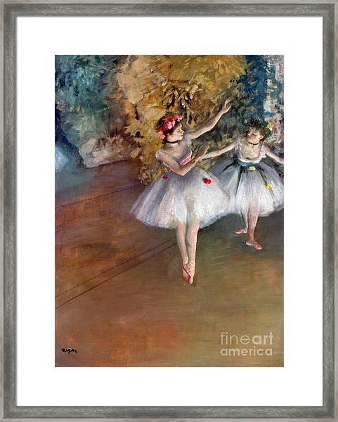 Degas: Dancers, C1877 Framed Print
