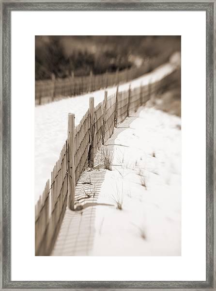 Delaware Dunes Number Fourteen Framed Print