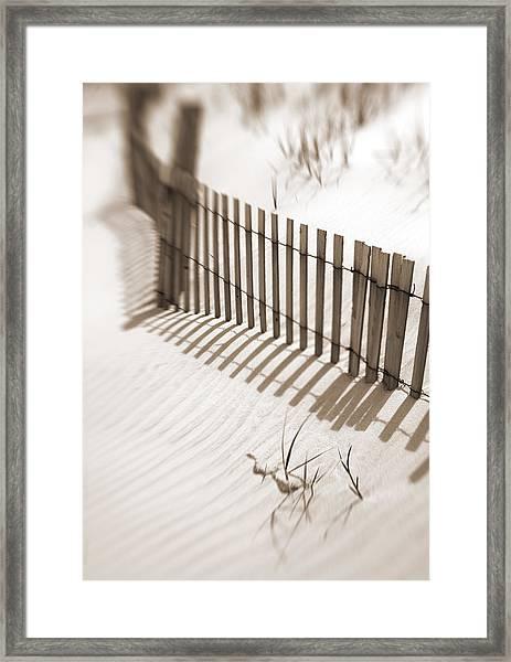 Delaware Dunes Number Six Framed Print