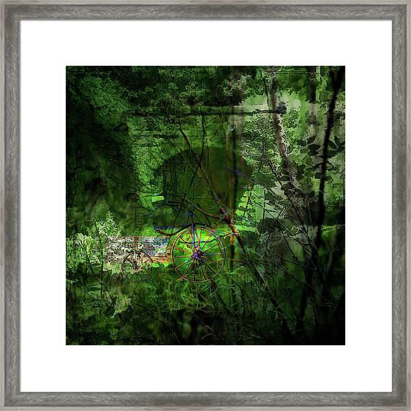Delaware Green Framed Print