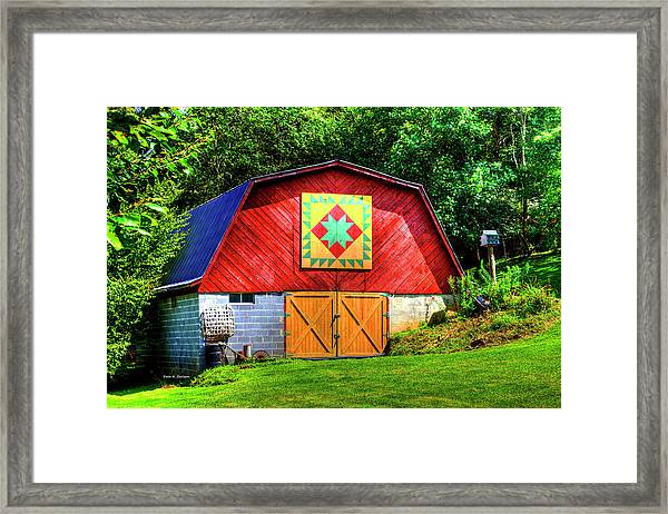 Delectable Mountains Framed Print
